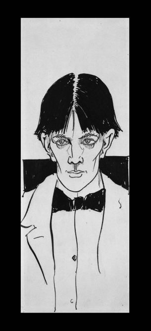 Aubrey Beardsley self portrait (BM)