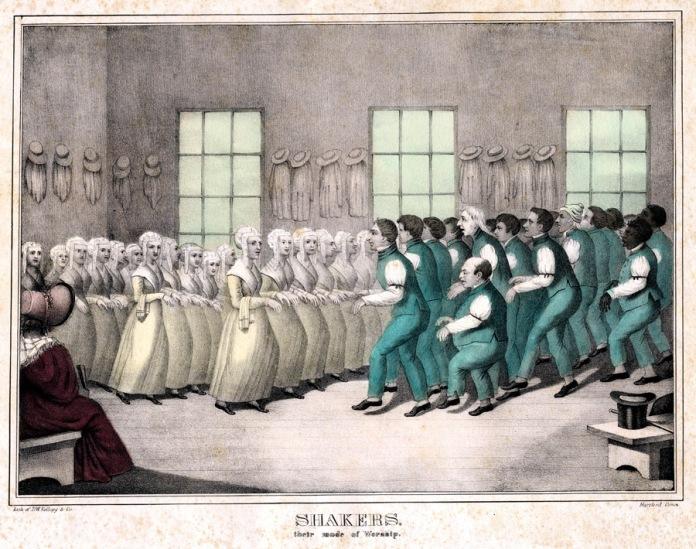 October '21 - Shaker Dance